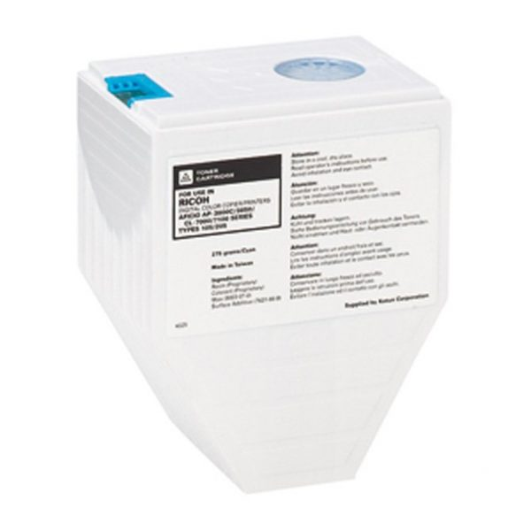 Cartouches Toner Laser Ricoh 3800 Toner 275g Cartridge Cyan