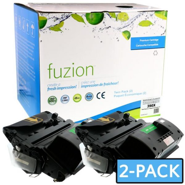 Cartouches Toner Laser HP CE390X Toner **MPS** Twin Pack – Black
