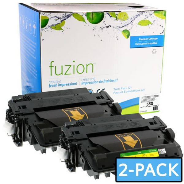 Cartouches Toner Laser HP CE255XD HY Toner – MPS Twin Pack – Black