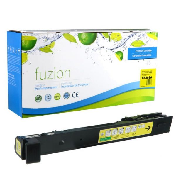 Cartouches Toner Laser HP CF302A Toner – Yellow
