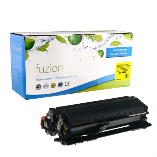 Cartouches Toner Laser HP CF462X Compatible High Yield Toner – Yellow