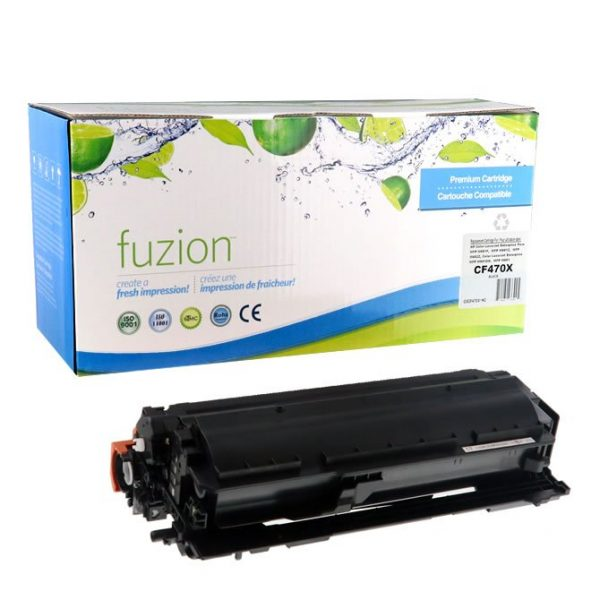 Cartouches Toner Laser HP CF470X High Yield Toner – Black