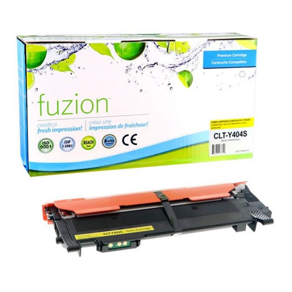 Cartouches Toner Laser Samsung CLTY404S Compatible Toner – Yellow
