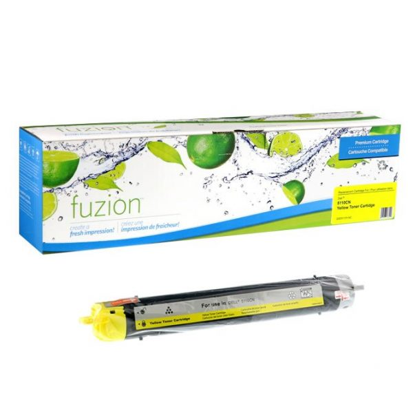 Cartouches Toner Laser Dell 5110CN Toner – Yellow
