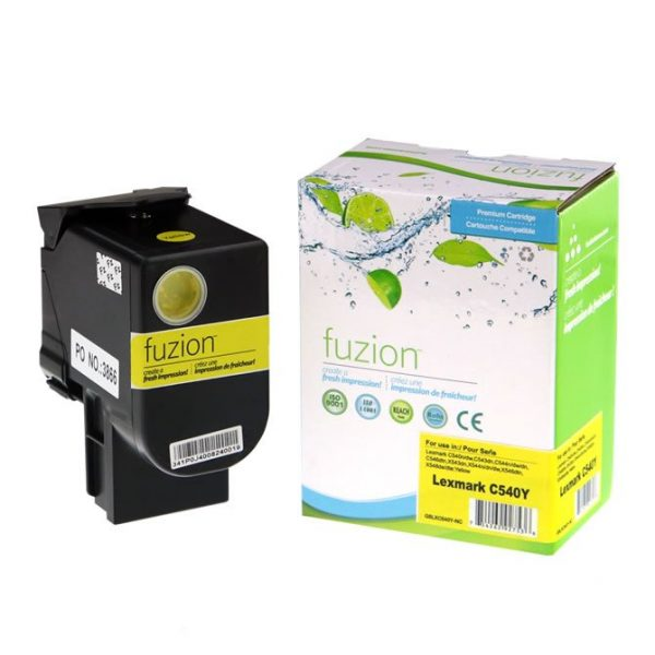 Cartouches Toner Laser Lexmark C540 Toner Cartridge – Yellow