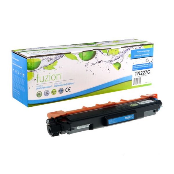Cartouches Toner Laser Brother TN-227C HY Toner Cartridge – Cyan