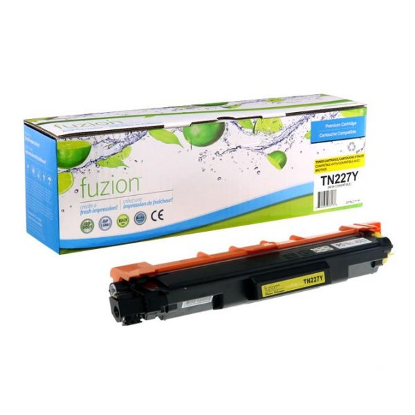 Cartouches Toner Laser Brother TN-227Y HY Toner Cartridge – Yellow