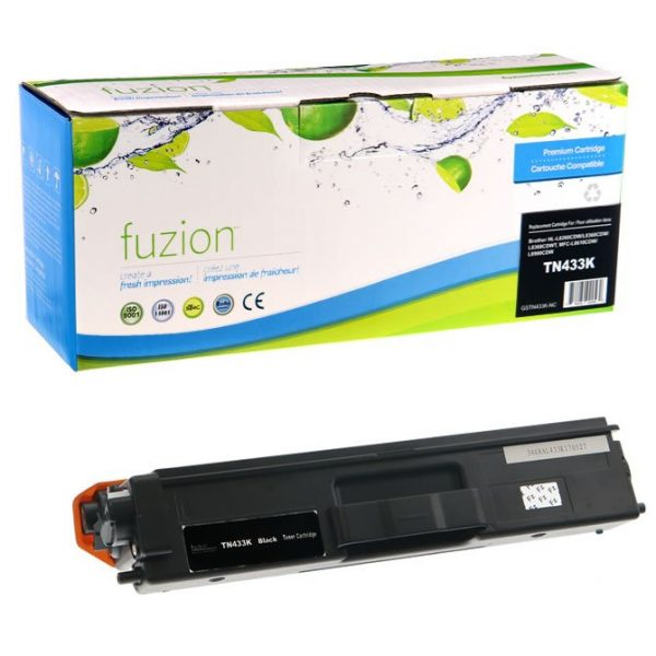 Cartouches Toner Laser Brother TN433BK HY Toner – Black