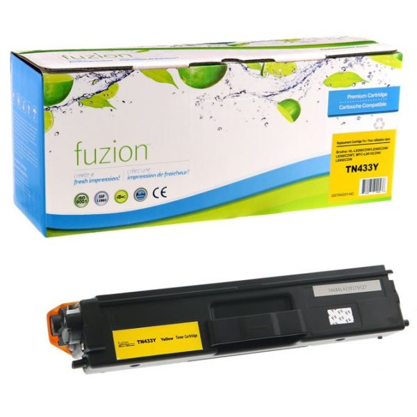 Cartouches Toner Laser Brother TN433Y HY Toner – Yellow