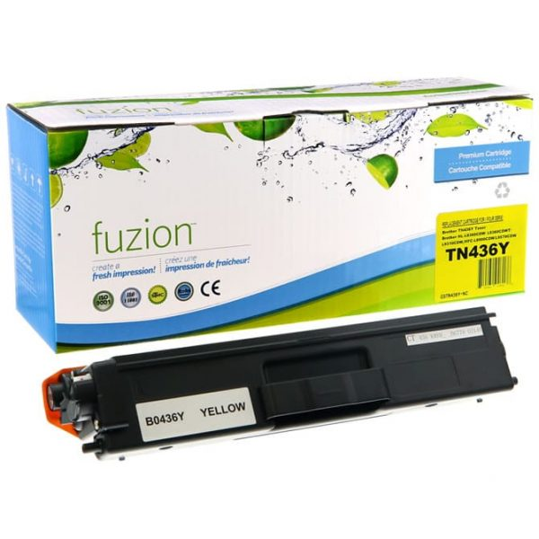 Cartouches Toner Laser Brother TN436Y Toner – Yellow
