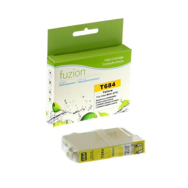 Cartouches à jet d'encre Epson T068420 High Yield Inkjet – Yellow