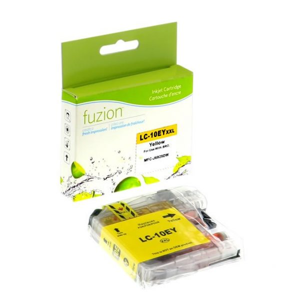 Cartouches à jet d'encre Brother LC10EY Inkjet – XXL Yellow