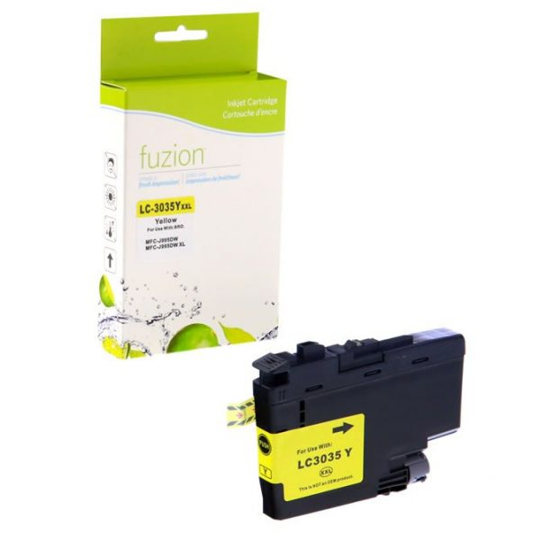 Cartouches à jet d'encre Brother LC3035Y Tank Inkjet – Ultra HY Yellow