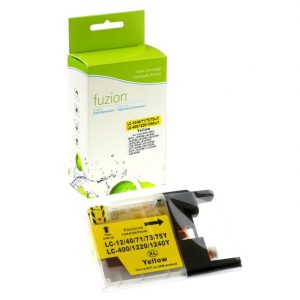 Cartouches à jet d'encre Brother LC75 High Yield Inkjet – Yellow