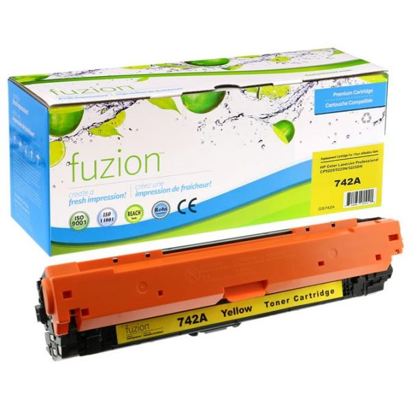 Cartouches Toner Laser HP Colour CE742A Toner – Yellow