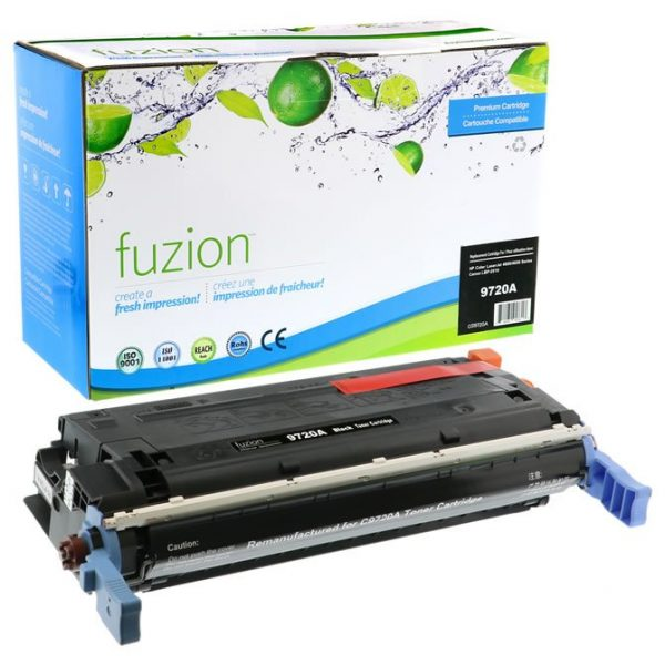 Cartouches Toner Laser HP Colour Q9720A Toner -Black