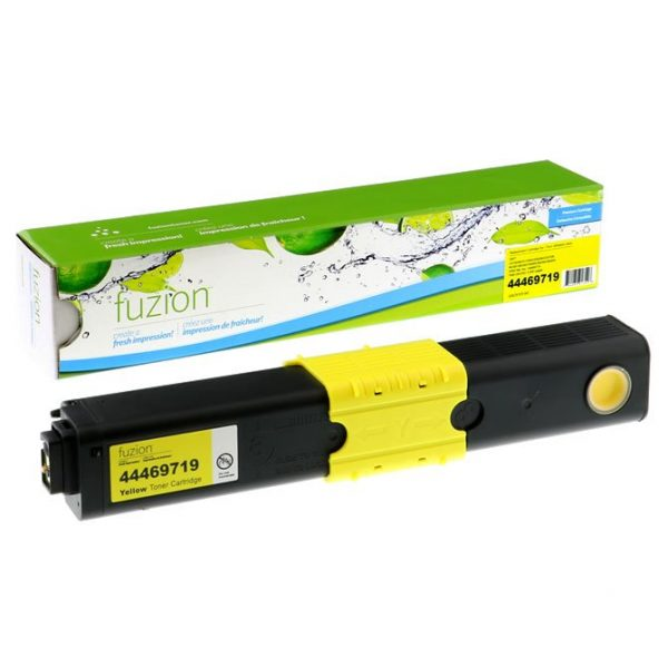 Cartouches Toner Laser Okidata C530DN/MC561DN Toner – Yellow