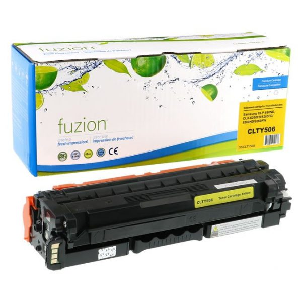 Cartouches Toner Laser Samsung CLP680ND Toner – Yellow