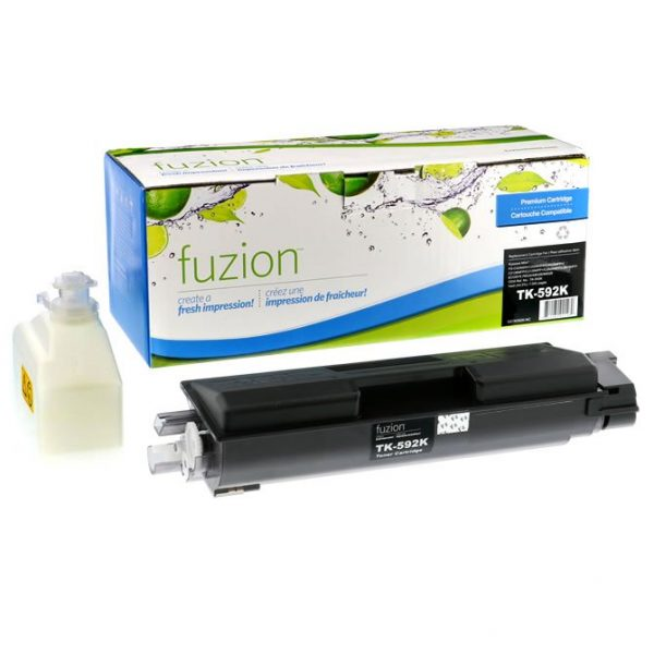 Cartouches Toner Laser Kyocera TK592K Toner Cartridge  – Black