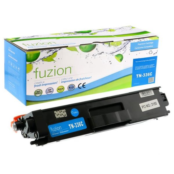 Cartouches Toner Laser Brother TN336 Toner – Cyan
