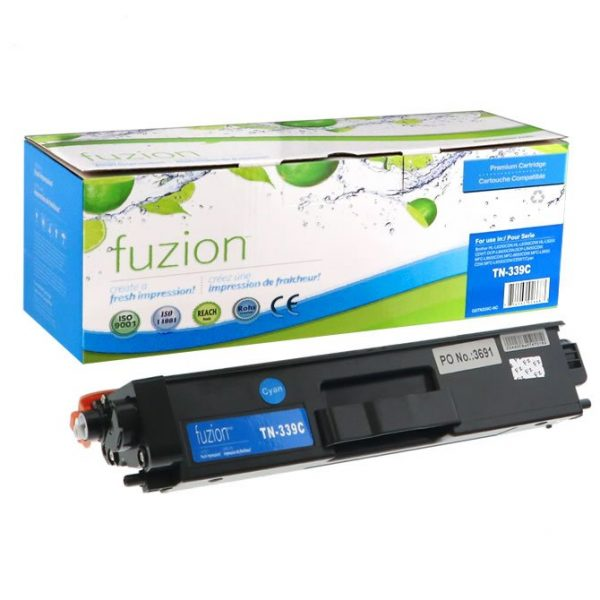 Cartouches Toner Laser Brother TN-339C HY Toner – Cyan
