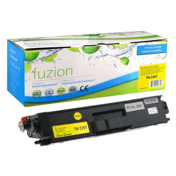 Cartouches Toner Laser Brother TN-339Y HY Toner – Yellow