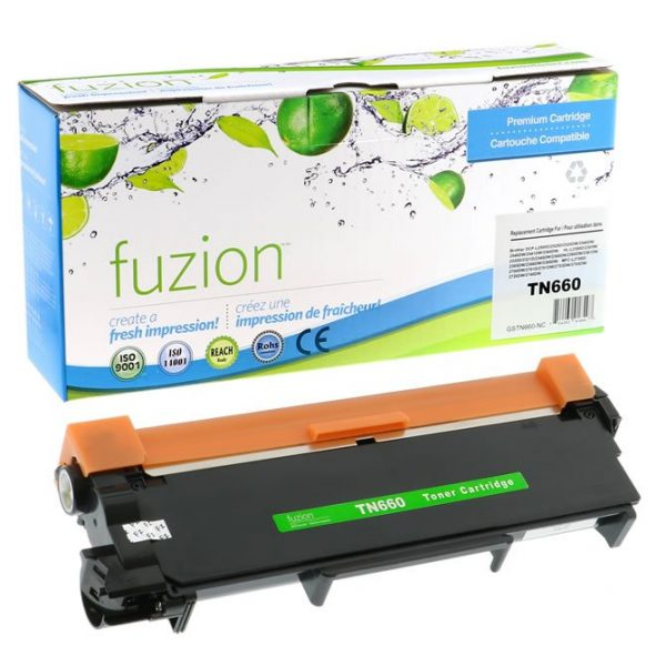 Cartouches Toner Laser Brother TN660 Compatible Toner – Black