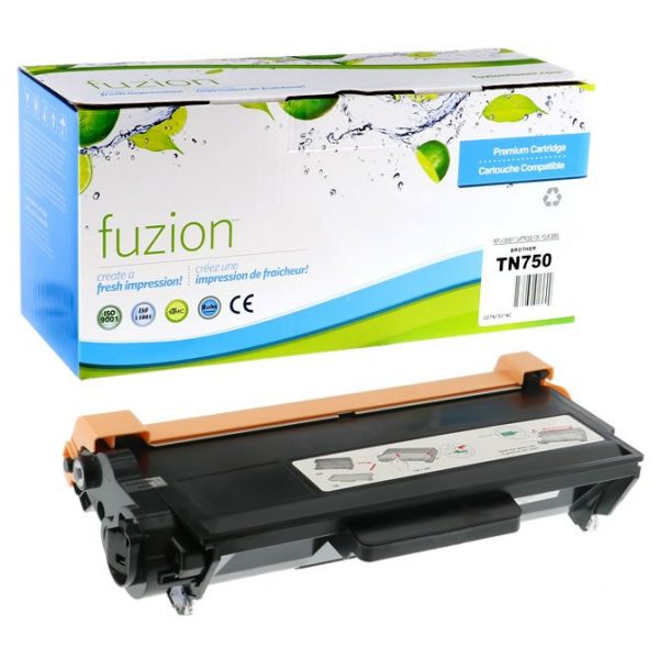 Cartouches Toner Laser Brother TN750 Compatible Toner – Black