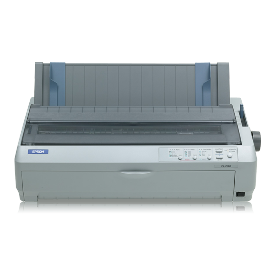 Imprimantes matricielles (à points) Epson FX-2190N Impact Printer imprimante matricielle